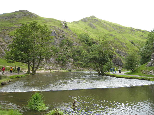 Dove Dale Stepping Stones - geograph.org.uk - 553714