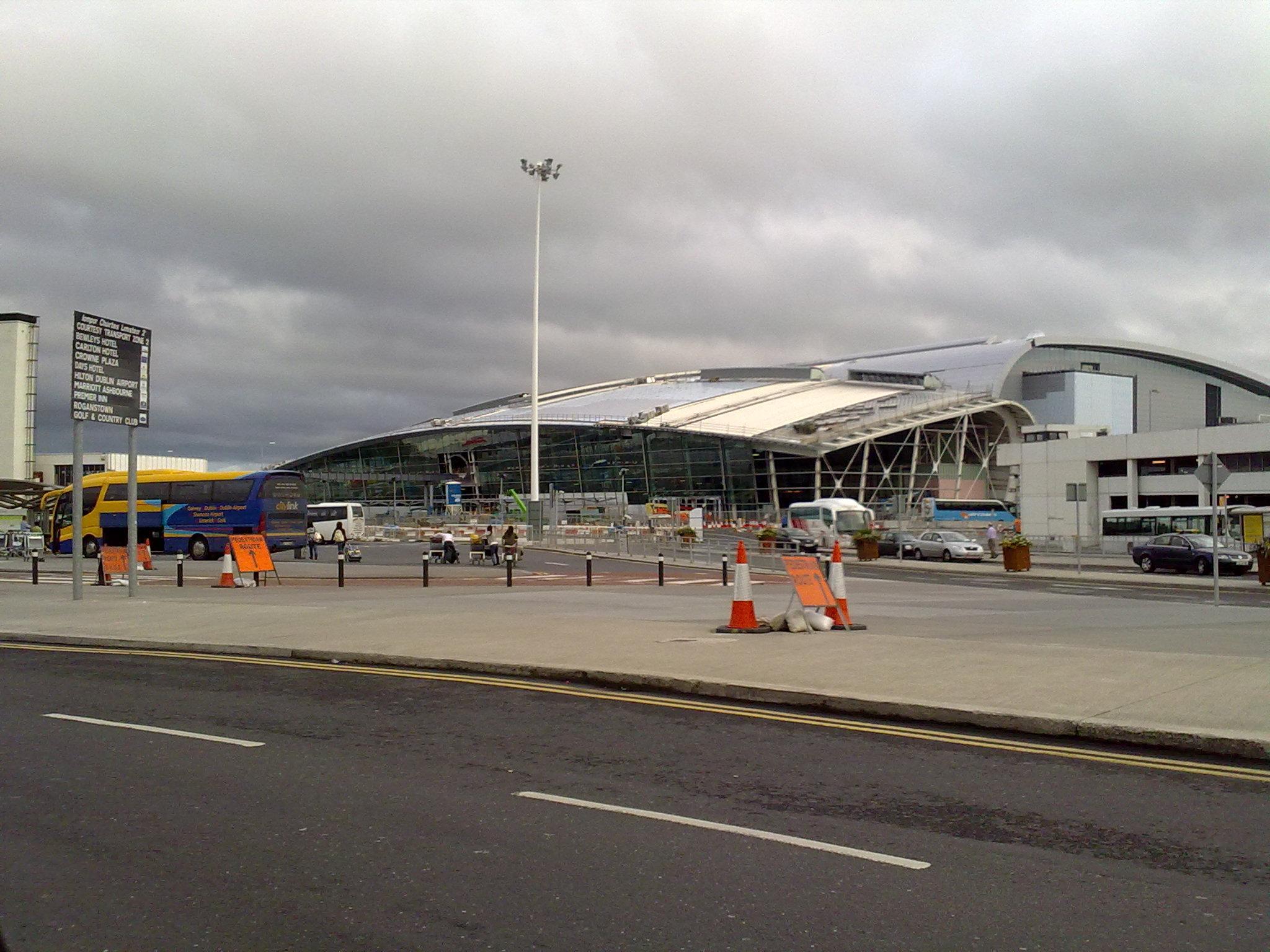 Dublin Airport Terminal  Car Park Map