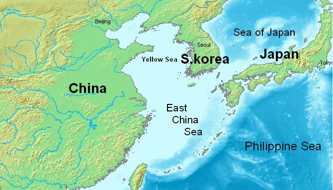 East China Sea - Wikipedia