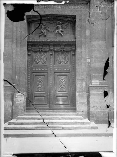 File eglise saint louis en l 39 ile vantaux de porte for Porte 3 vantaux