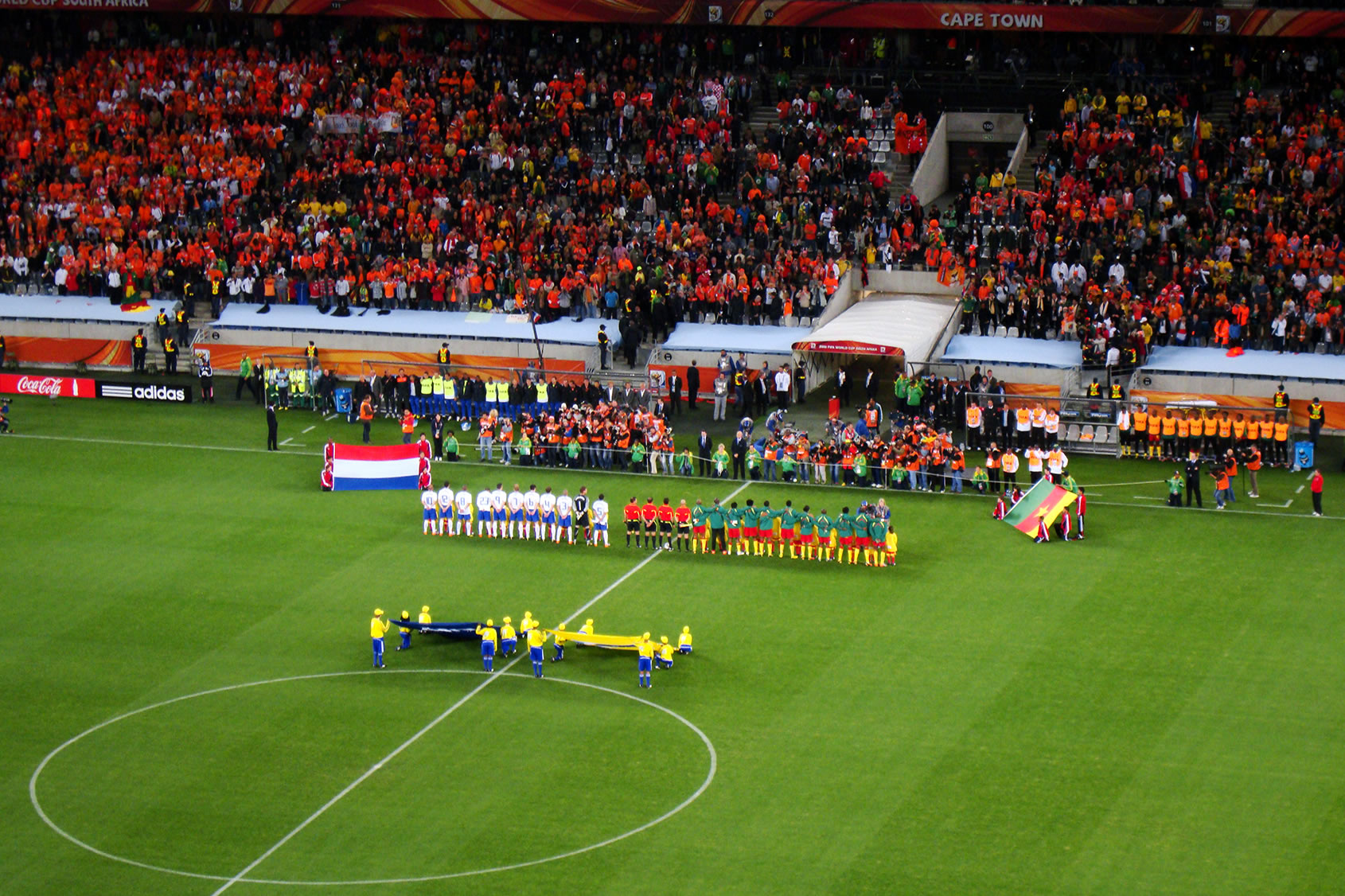 Fifa World Cup Netherlands Cameroon Wikipedia