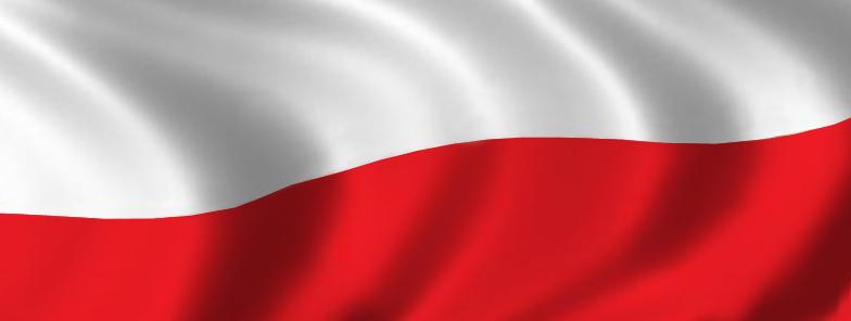 Flaga Polski - tło