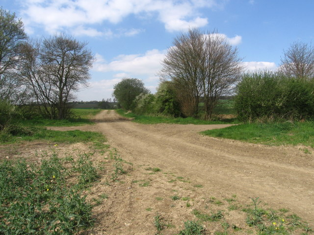 Footpath junction on the Harcamlow Way - geograph.org.uk - 404842