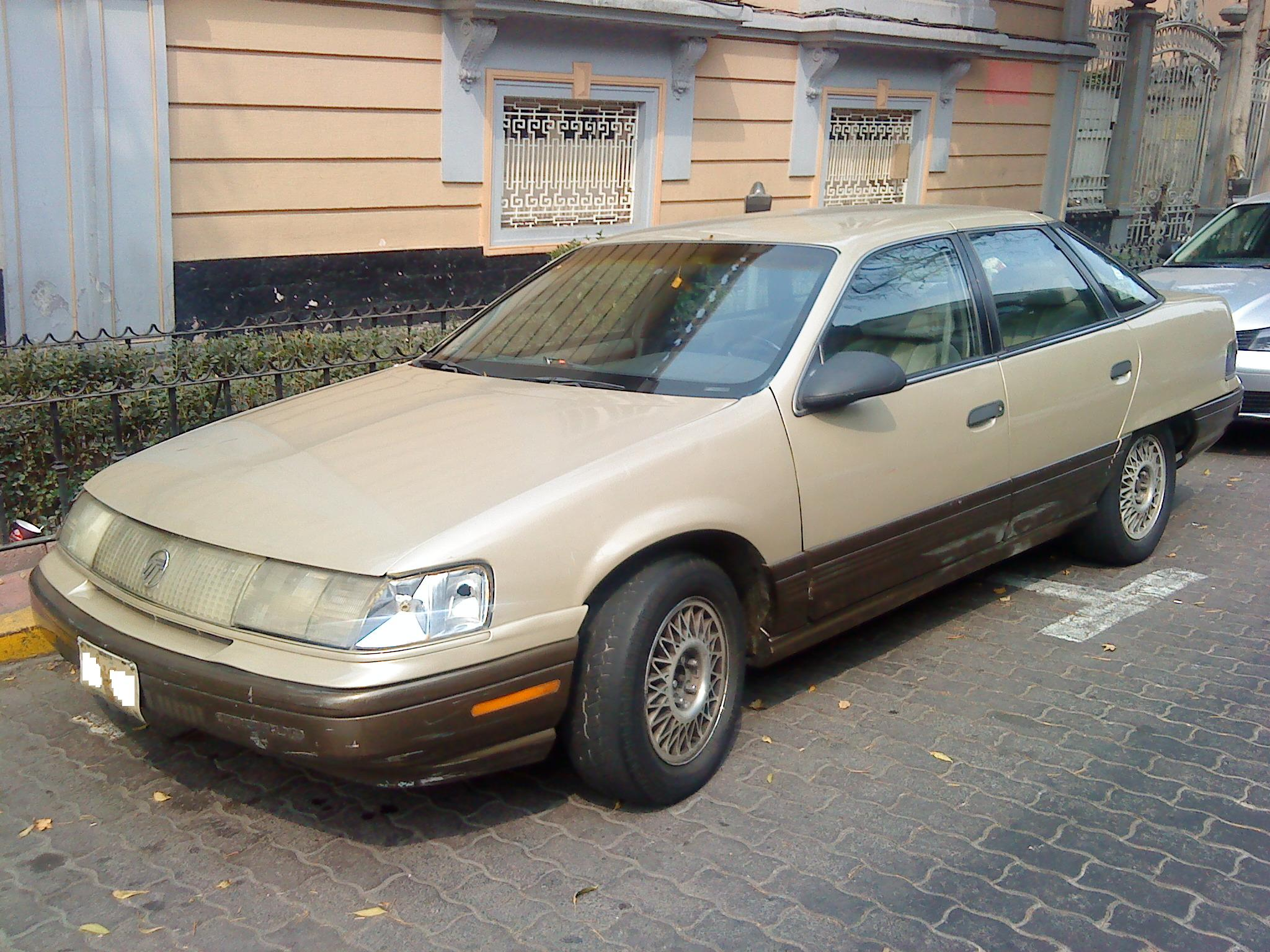 1990 Ford Taurus >> File Ford Taurus 1990 Mex 2 Jpg Wikimedia Commons