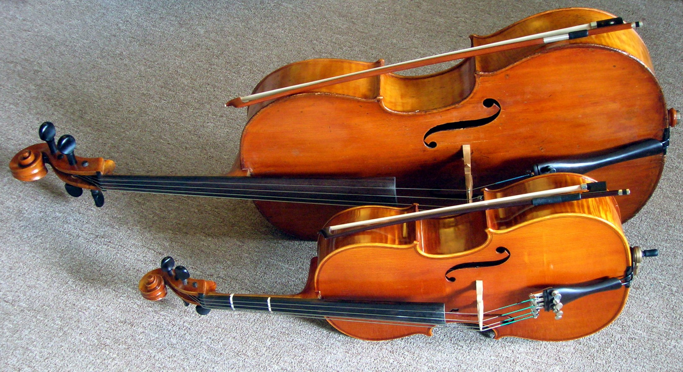 Full_size_and_fractional_cello The Most Common Repairs For Your Cello