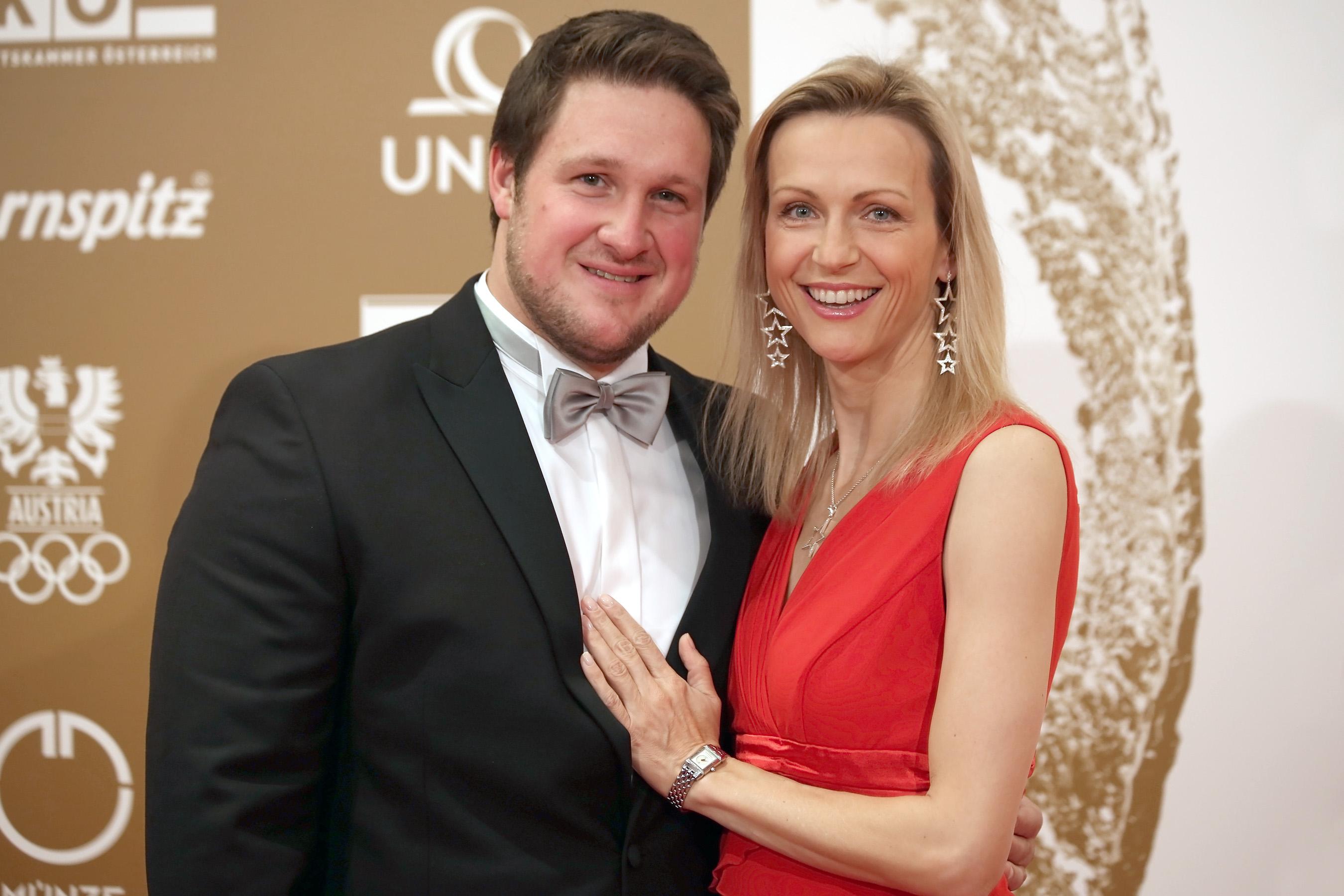 Gala-Nacht des Sports 2013 Wien red carpet Inge Matthias Steiner