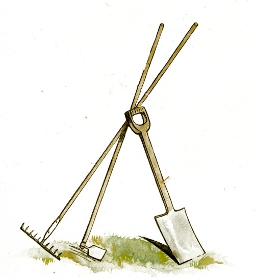 File gardening tools clip wikimedia commons for Gardening tools clipart