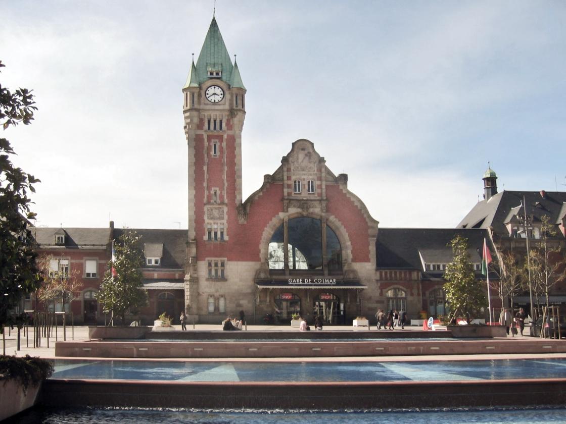 Gare de colmar wikipedia for Colmar pictures