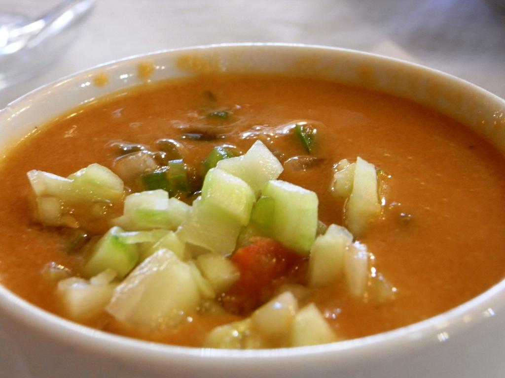 Gazpacho - a traditional Spanish dish...
