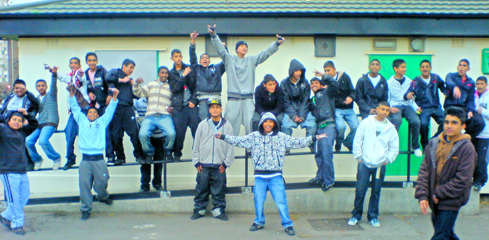 gangs london Asian in