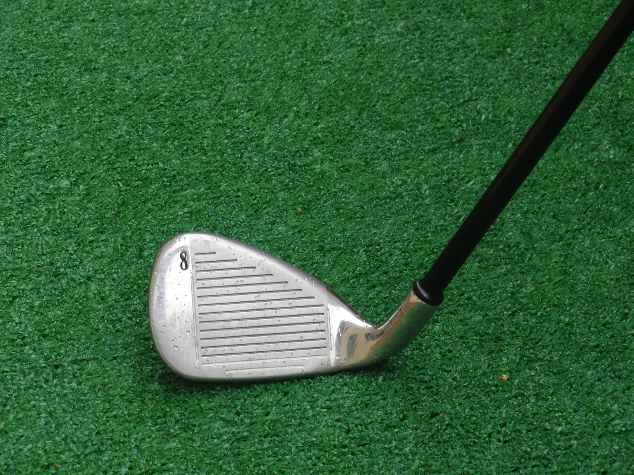 Golf club iron rack