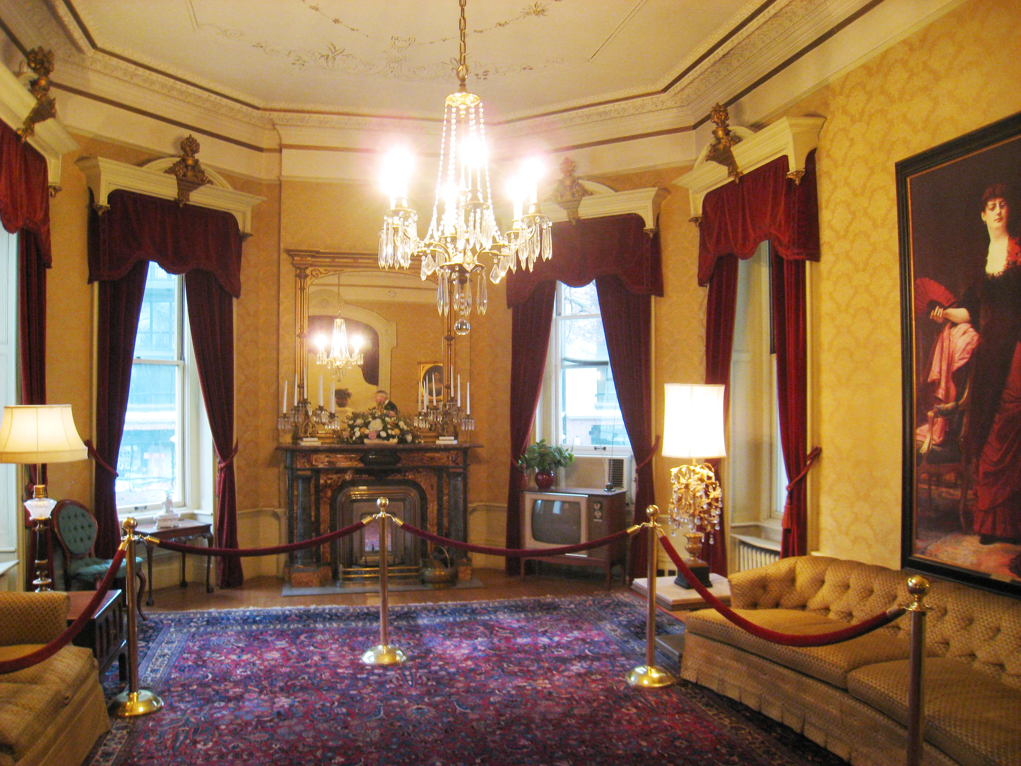 What Floor Is The Oval Office On File Governor S Mansion State Historic Park Second