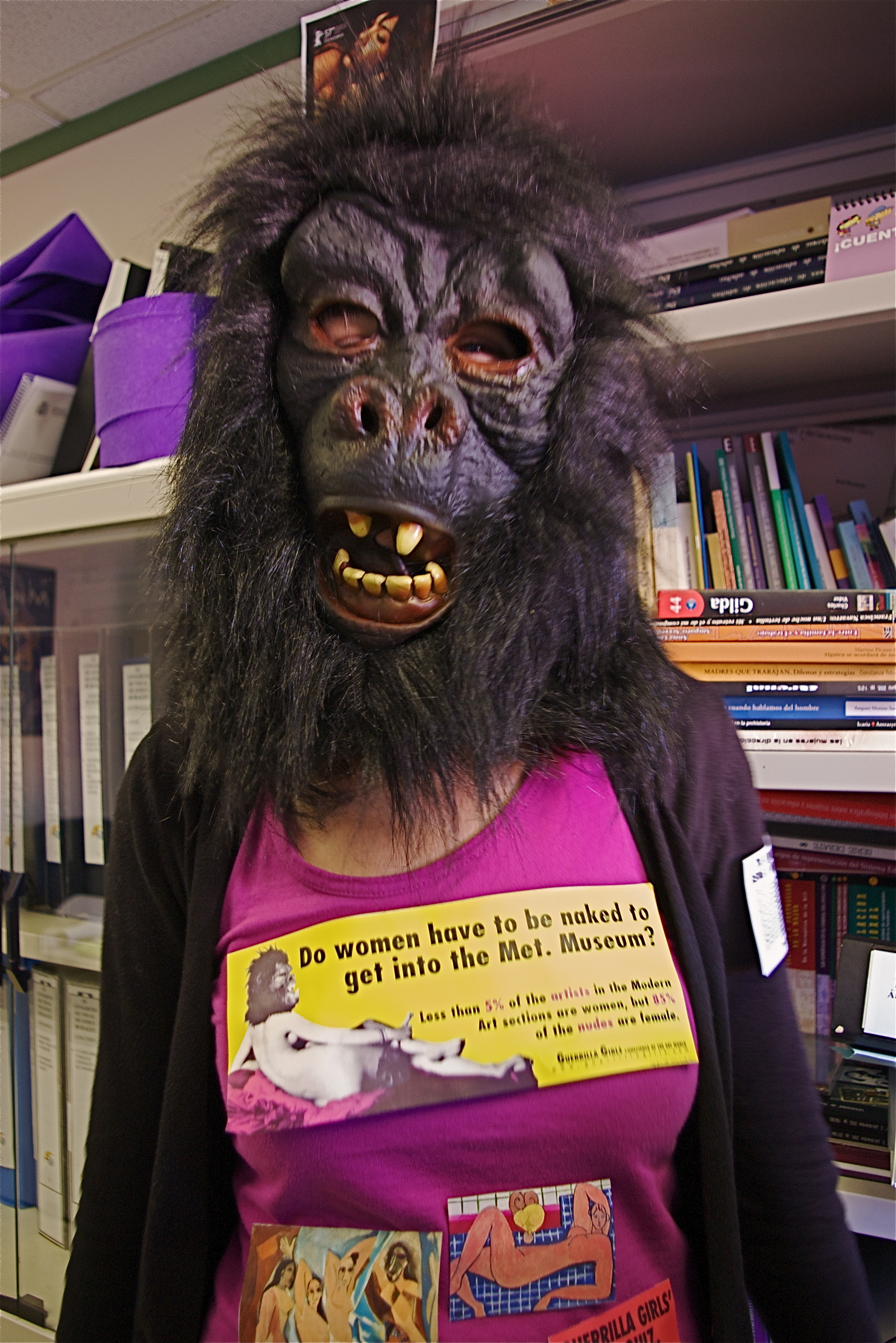 Image of Guerrilla Girls from Wikidata