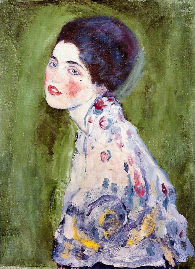 Как в безалаберной Италии сперли Женский портрет Климта