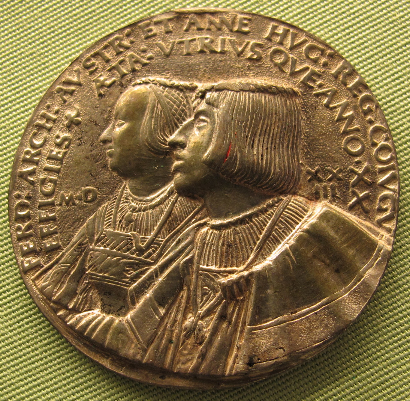 File:Hans daucher, ferdinando I e anna di boemia, 1523.JPG