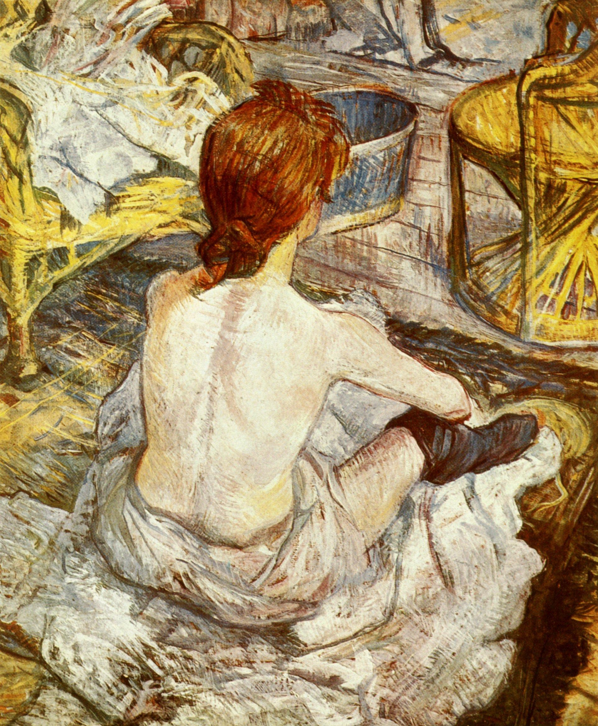 File henri de toulouse lautrec wikimedia commons - Peinture de toilette ...