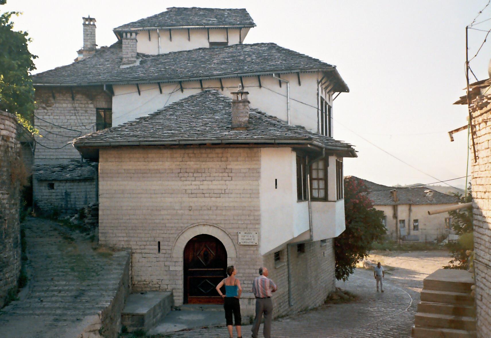 The house where Hoxha grew up in Gjirokast r