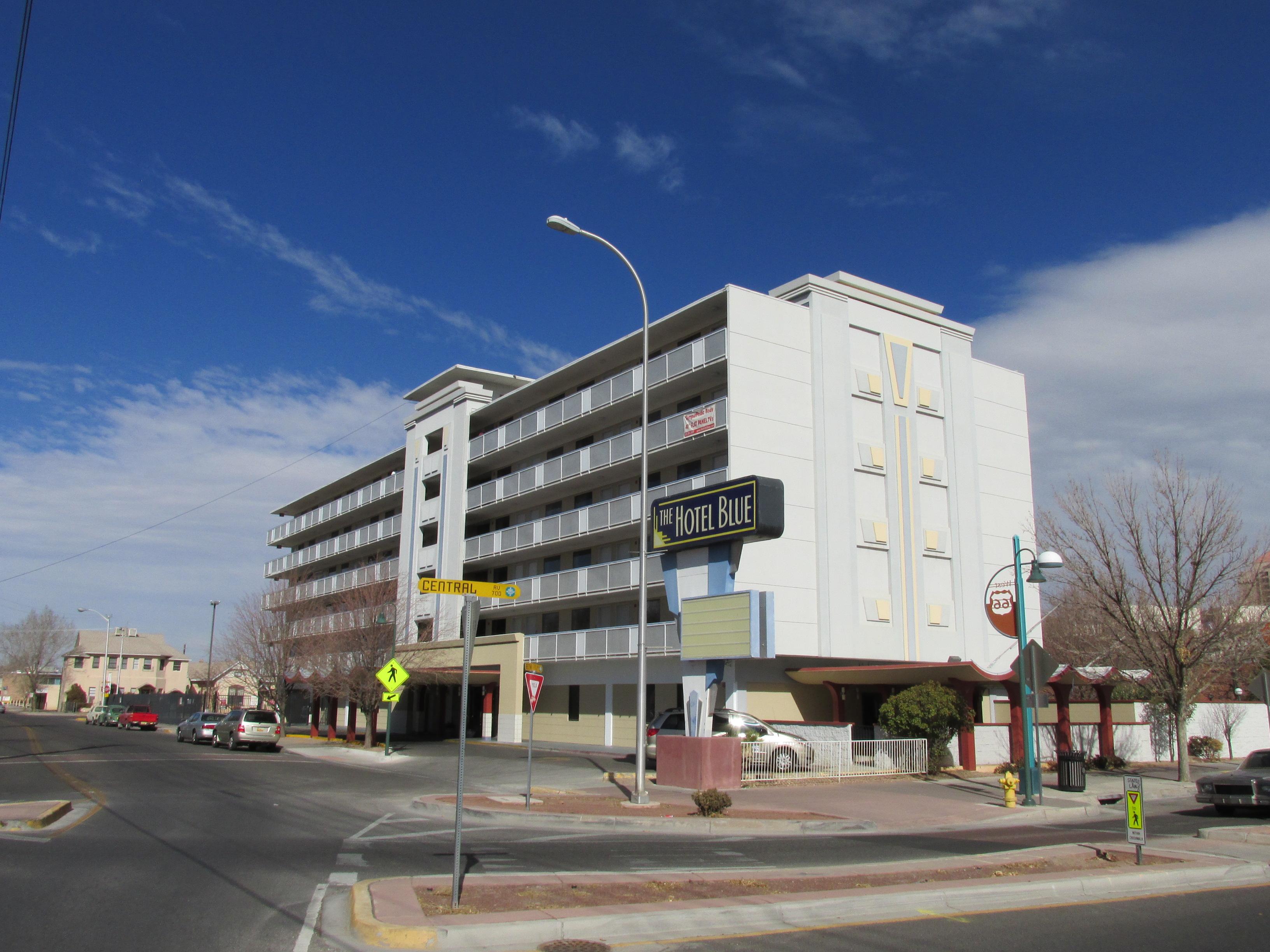 File Hotel Blue Albuquerque Nm Jpg
