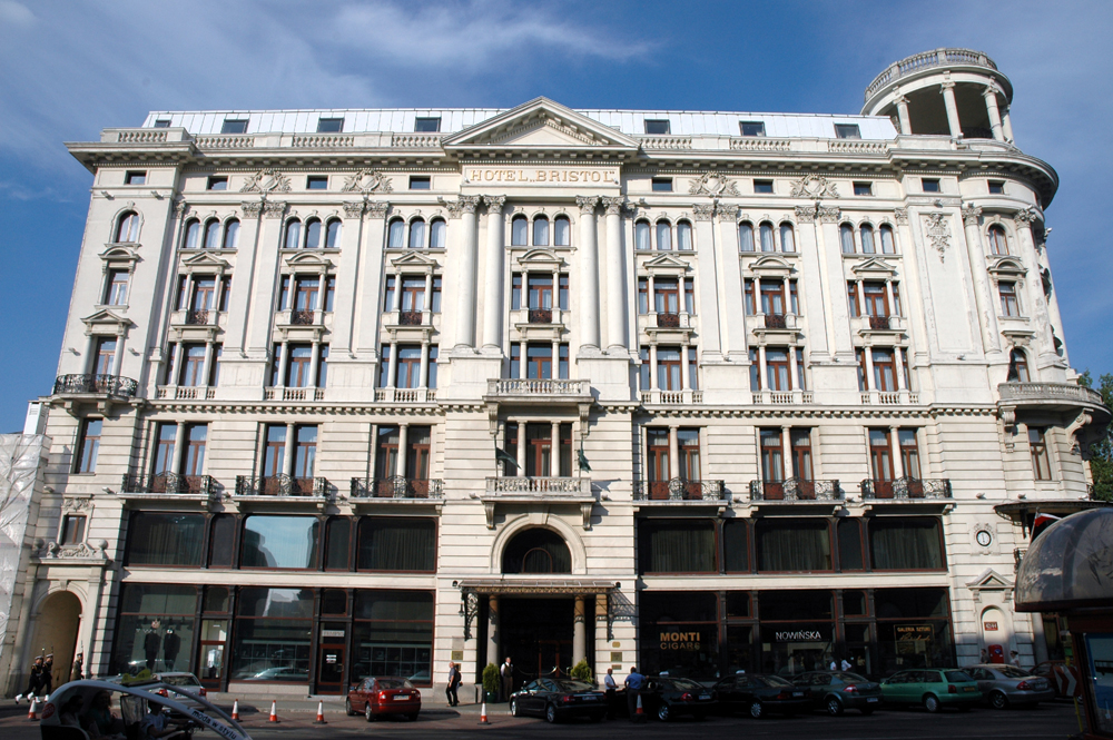 Hotel Bristol Warszawa Parking