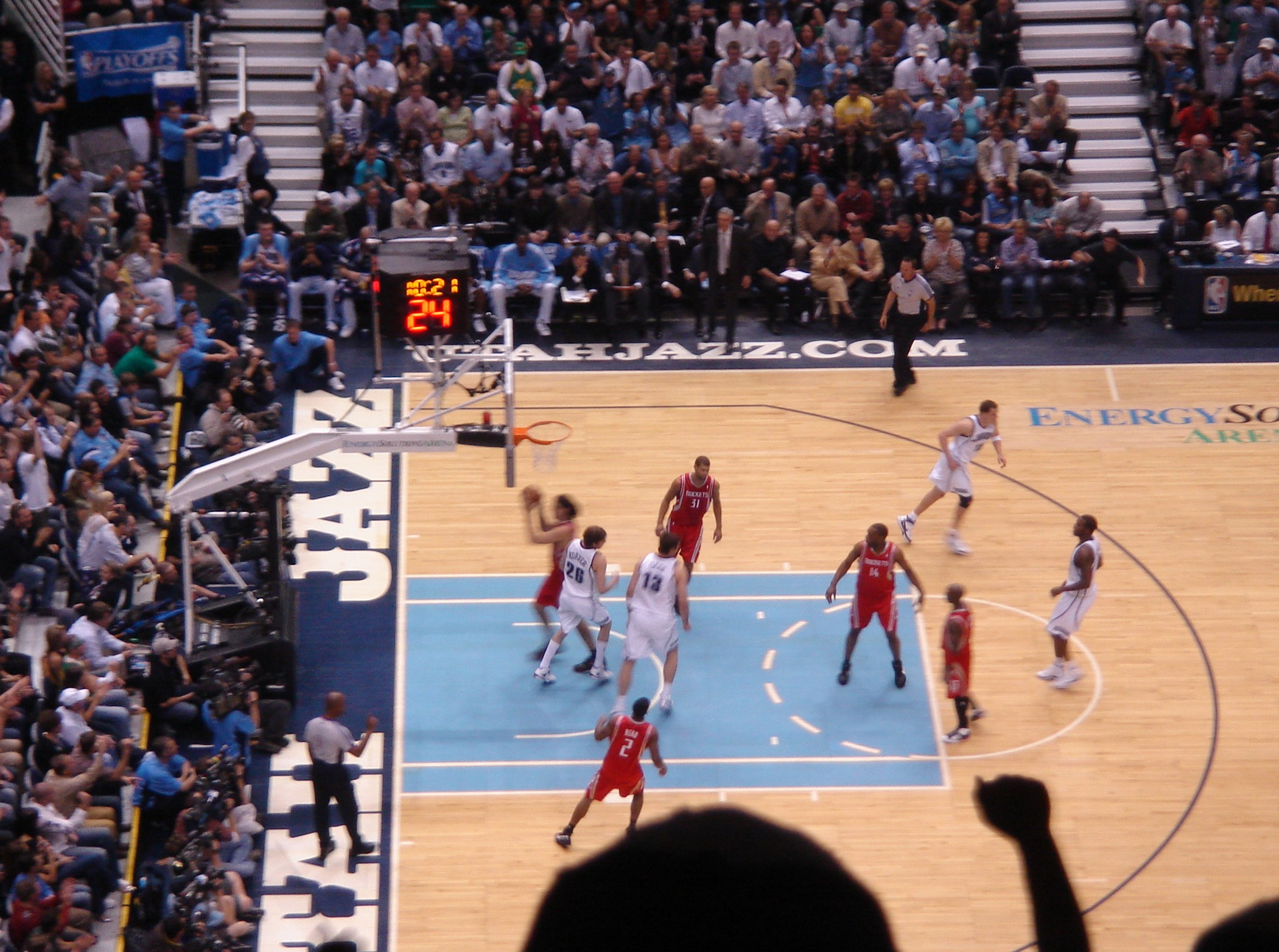 Image result for Houston Rockets vs Utah Jazz