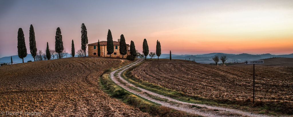 Αποτέλεσμα εικόνας για I cipressini di Pienza