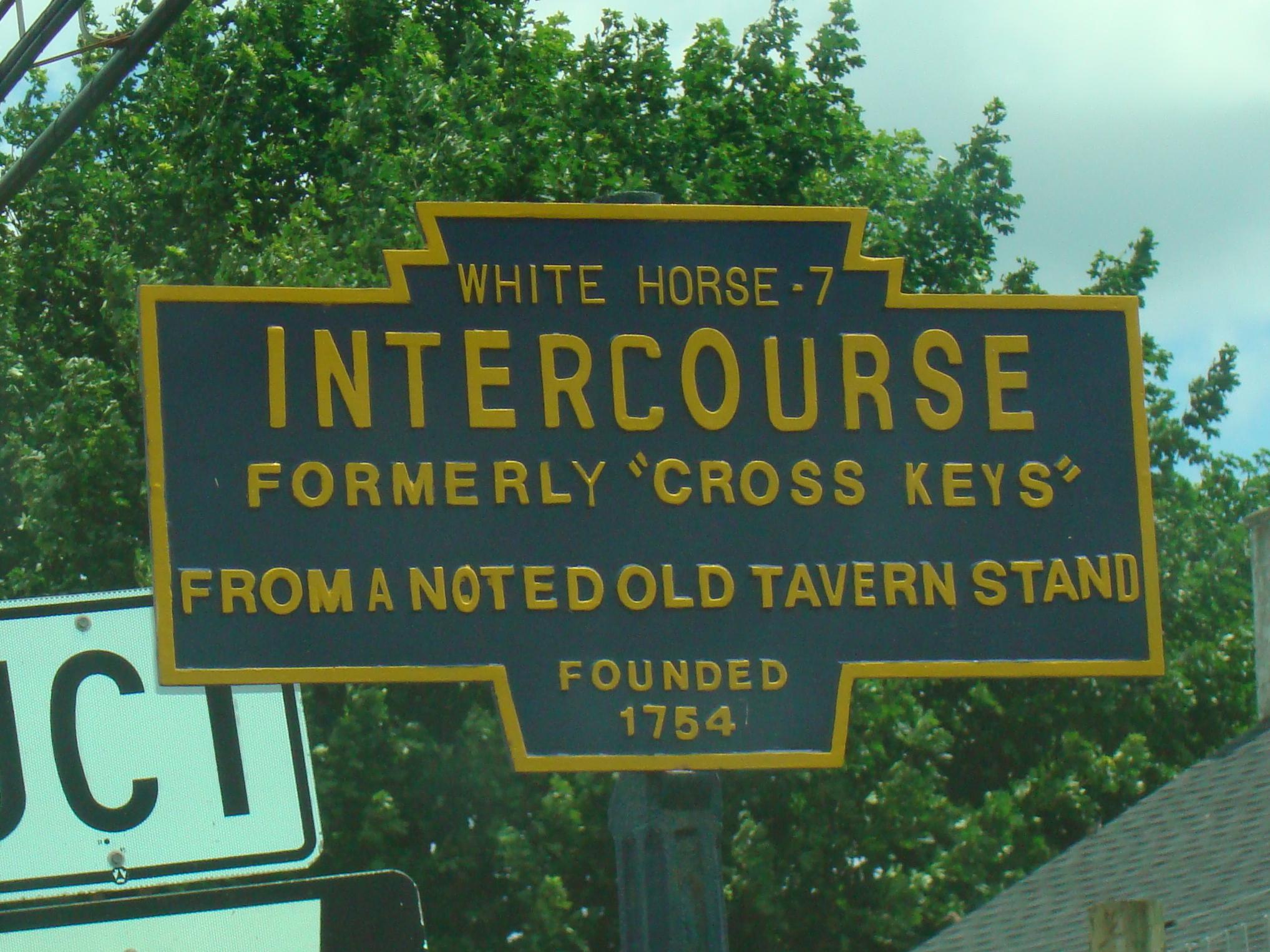 Intercourse%2C_PA_Keystone_Marker_Route_
