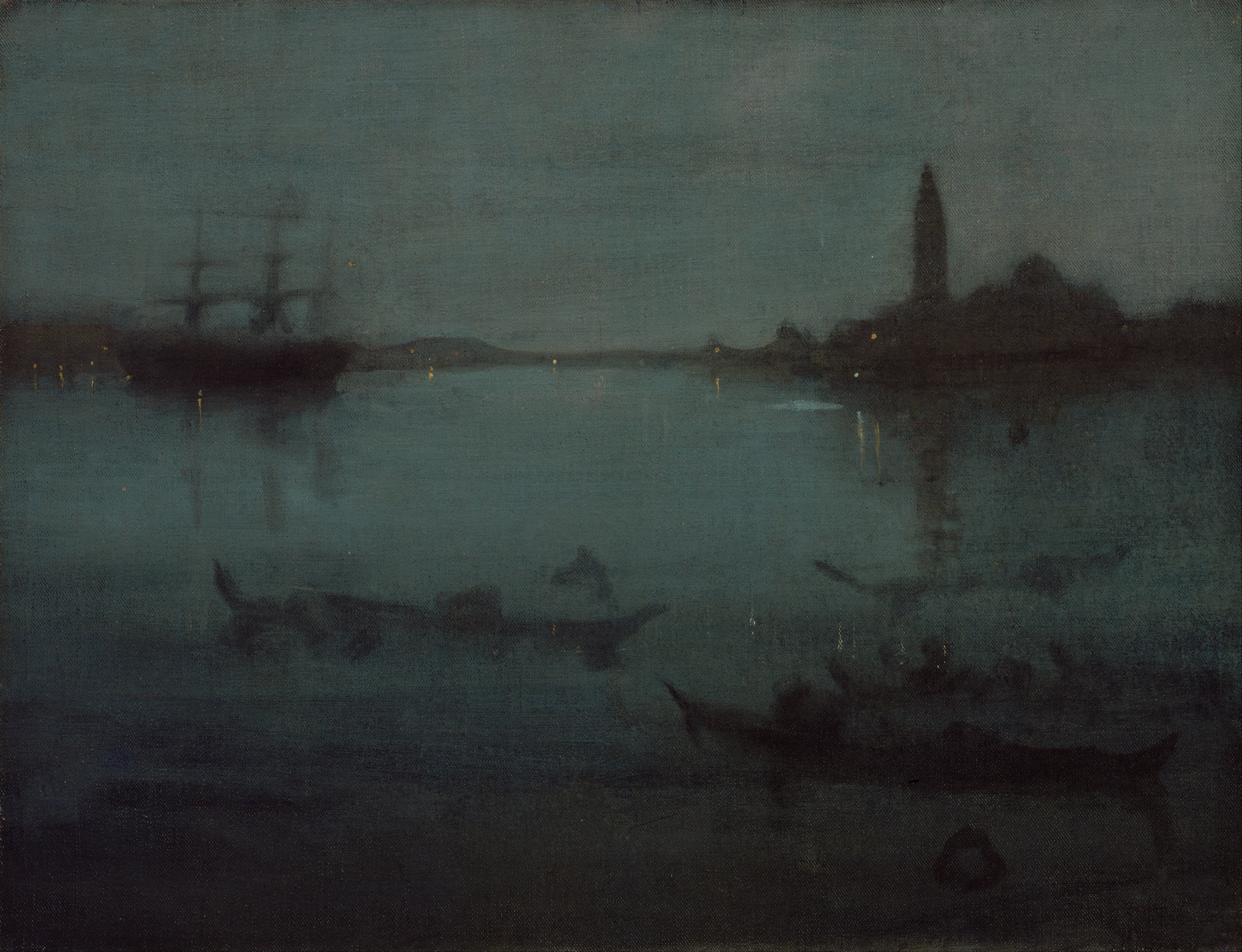 James Abbott McNeill Whistler - Nocturne in Blue and Silver- The Lagoon, Venice - Google Art Project.jpg