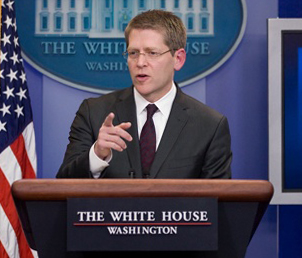 Jay Carney White House Press Secretary