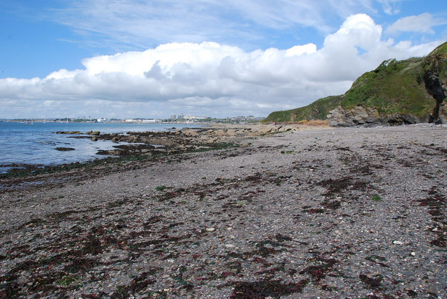 Jennycliff Beach - geograph.org.uk - 1247332