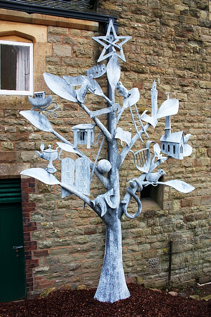 JesseTree, Hollymount Church, Malvern