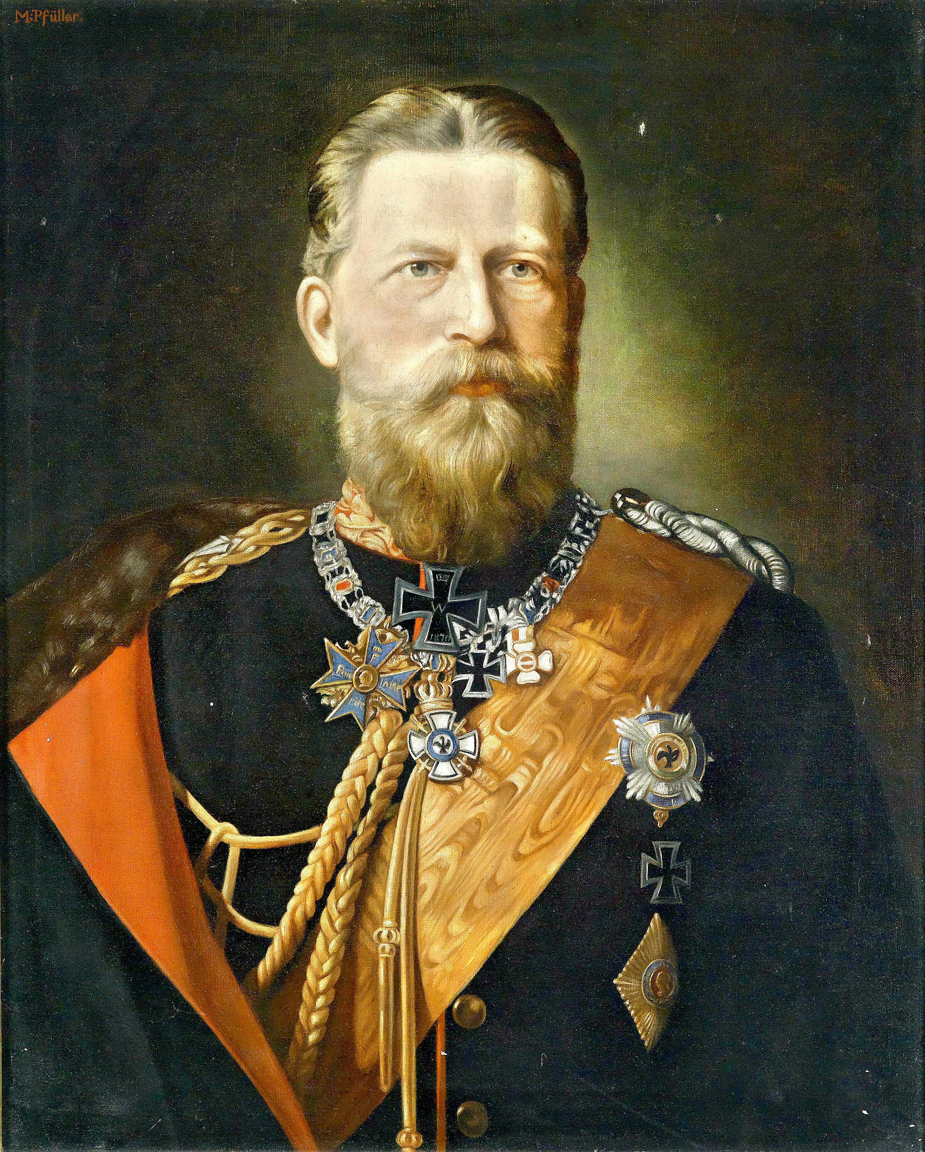 FRIEDRICHIII  DEUTSCHER KAISER UND KÖNIG 1831-1888 DER 99 TAGE KAISER NEU SCHÖN