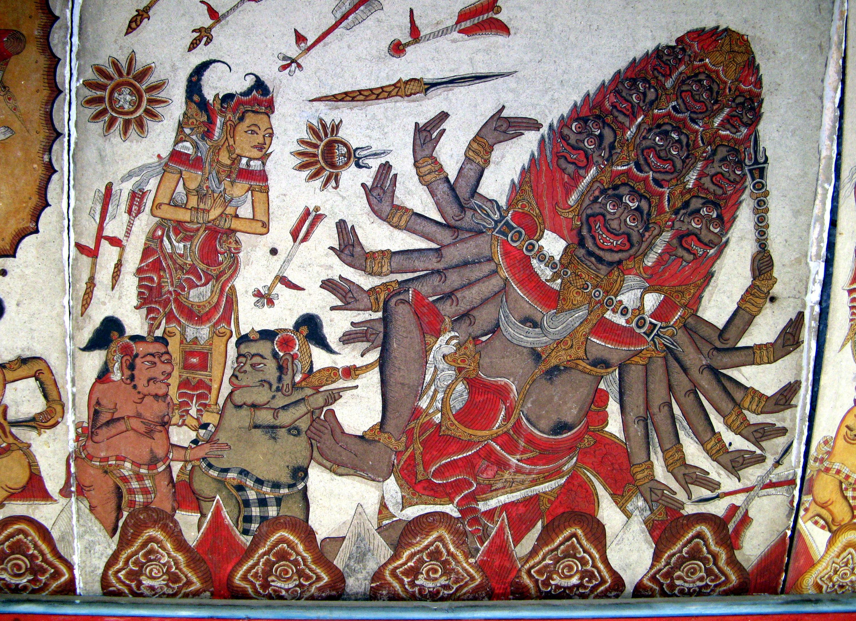 File Kerta Gosa Ramayana Scene Bali 1543 Jpg Wikimedia