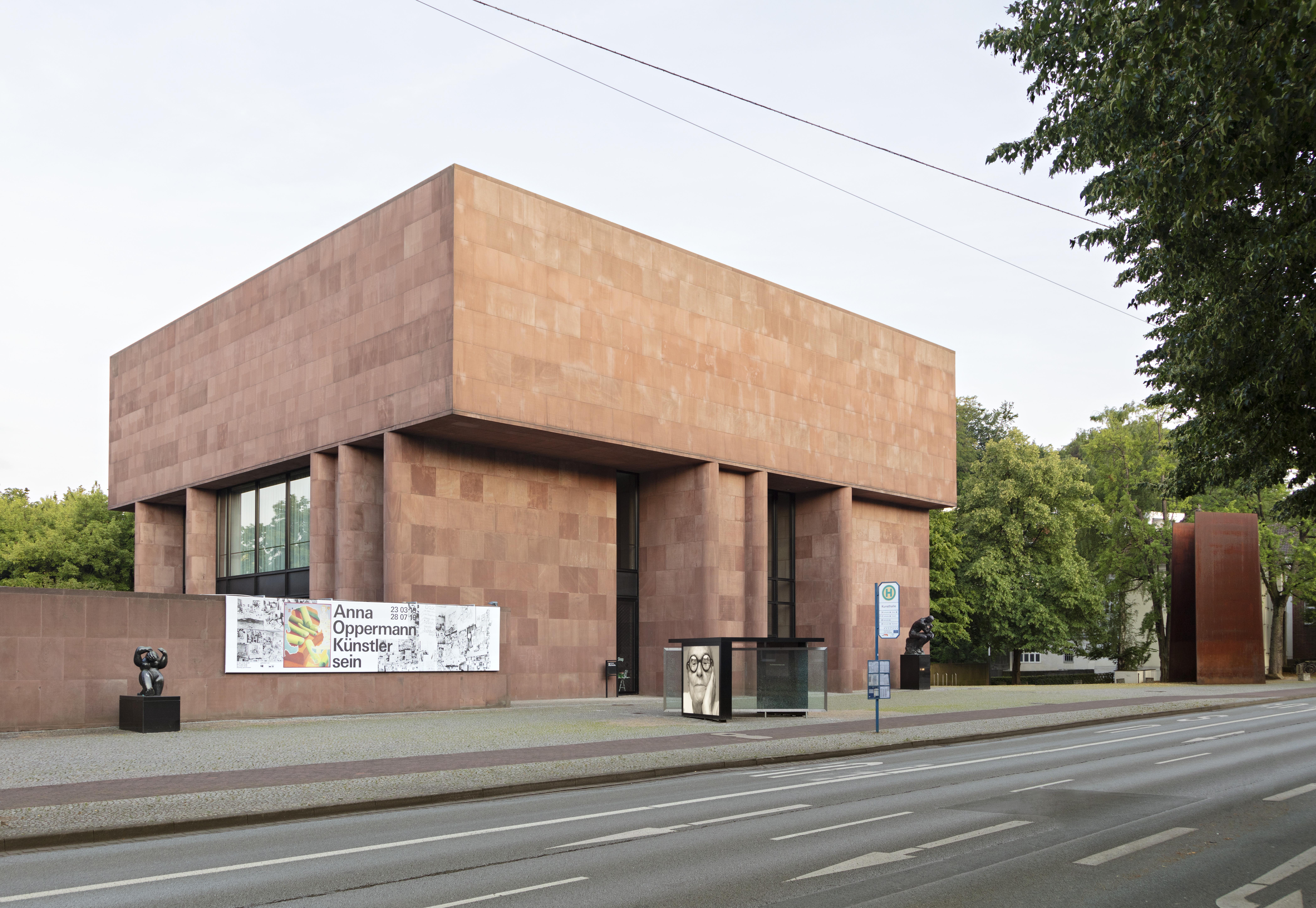 File Kunsthalle Bielefeld Ansicht Von Der Strasse 2 Jpg