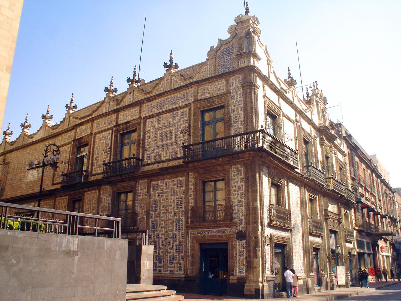 Casa de los azulejos imagen for Casa de los azulejos mexico df