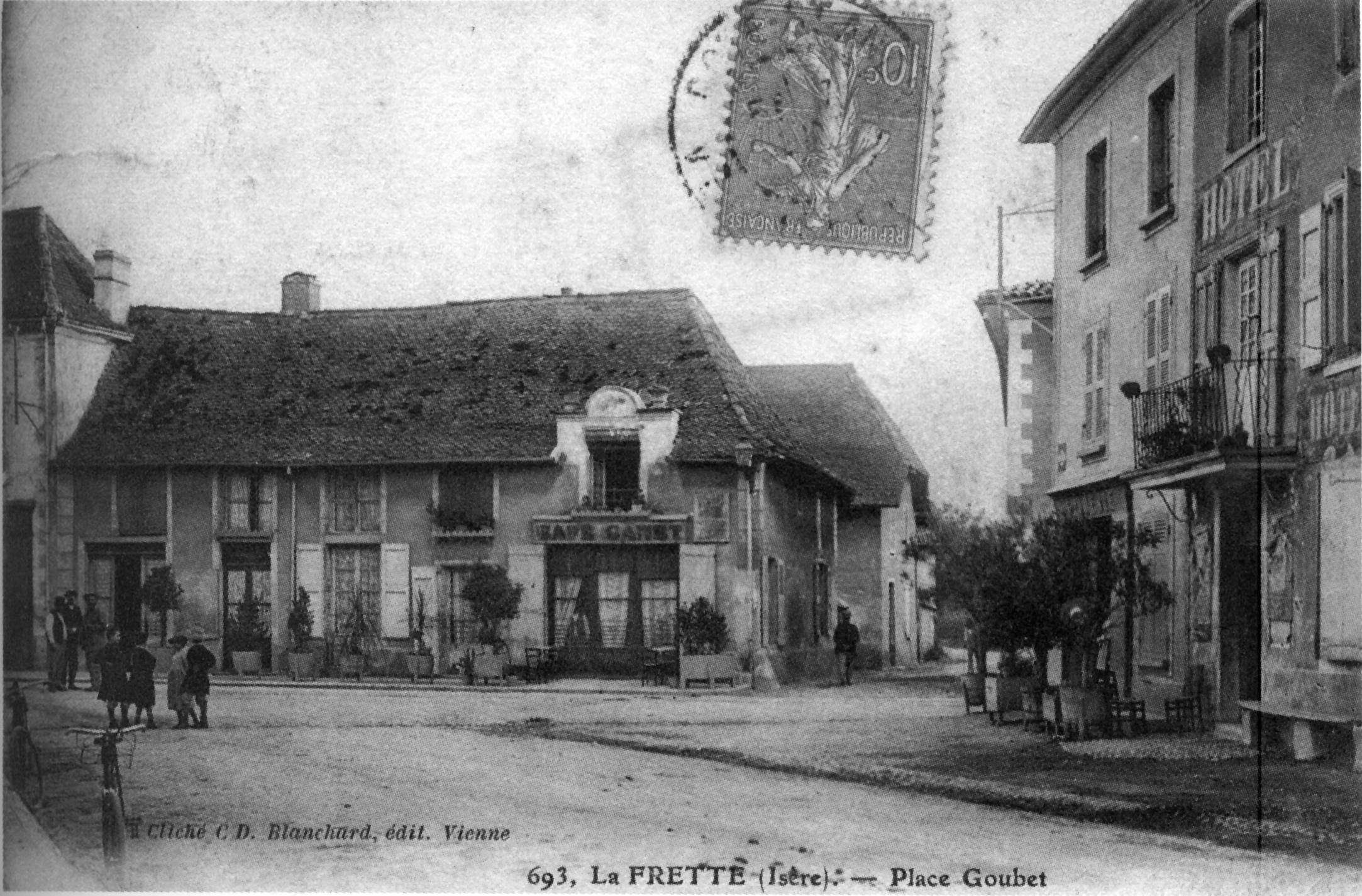 Fichier la frette place goubet en 1906 p 89 de l 39 is re for Jardin 38200