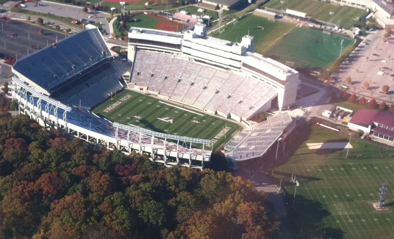 lane stadium amazing college stadiums
