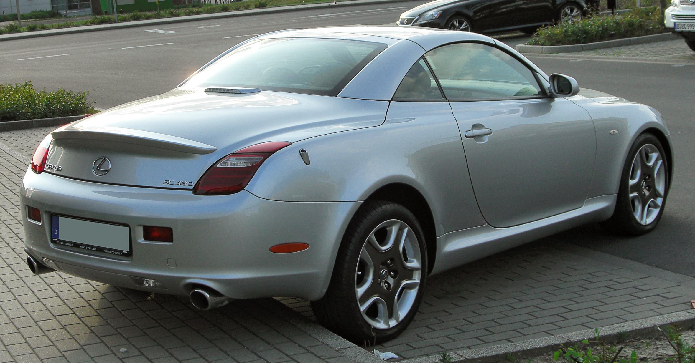 FileLexus SC 430 II Facelift rear 20100524jpg  Wikimedia Commons