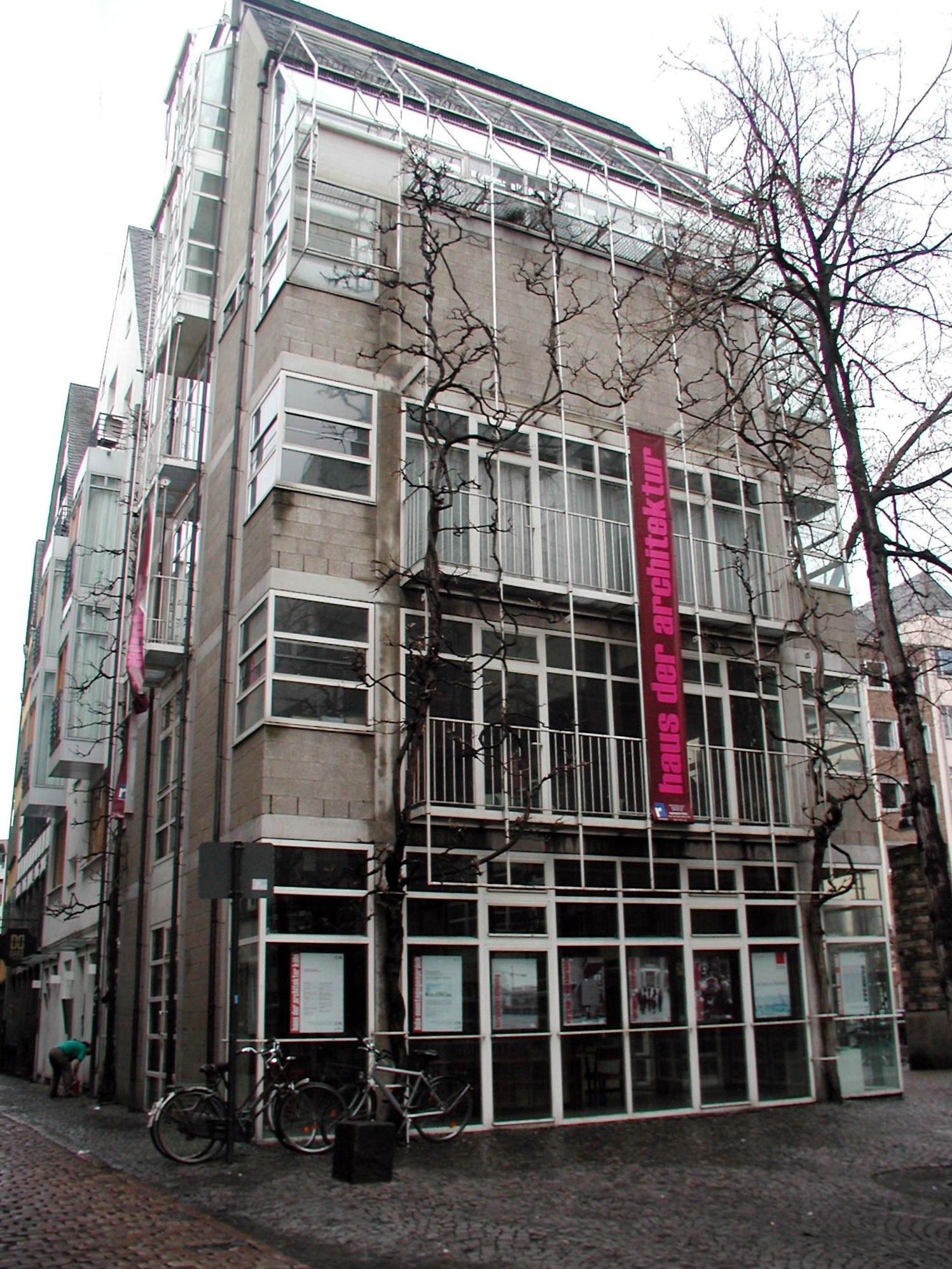 Architekten In Köln file lintgasse 9 köln haus der architektur 050 jpg wikimedia commons