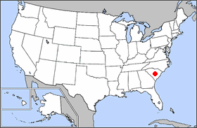 FileLocMap Congaree National Parkpng Wikimedia Commons - National parks locations map