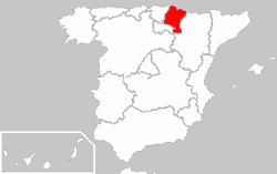 Image:Locator map of Navarre.png