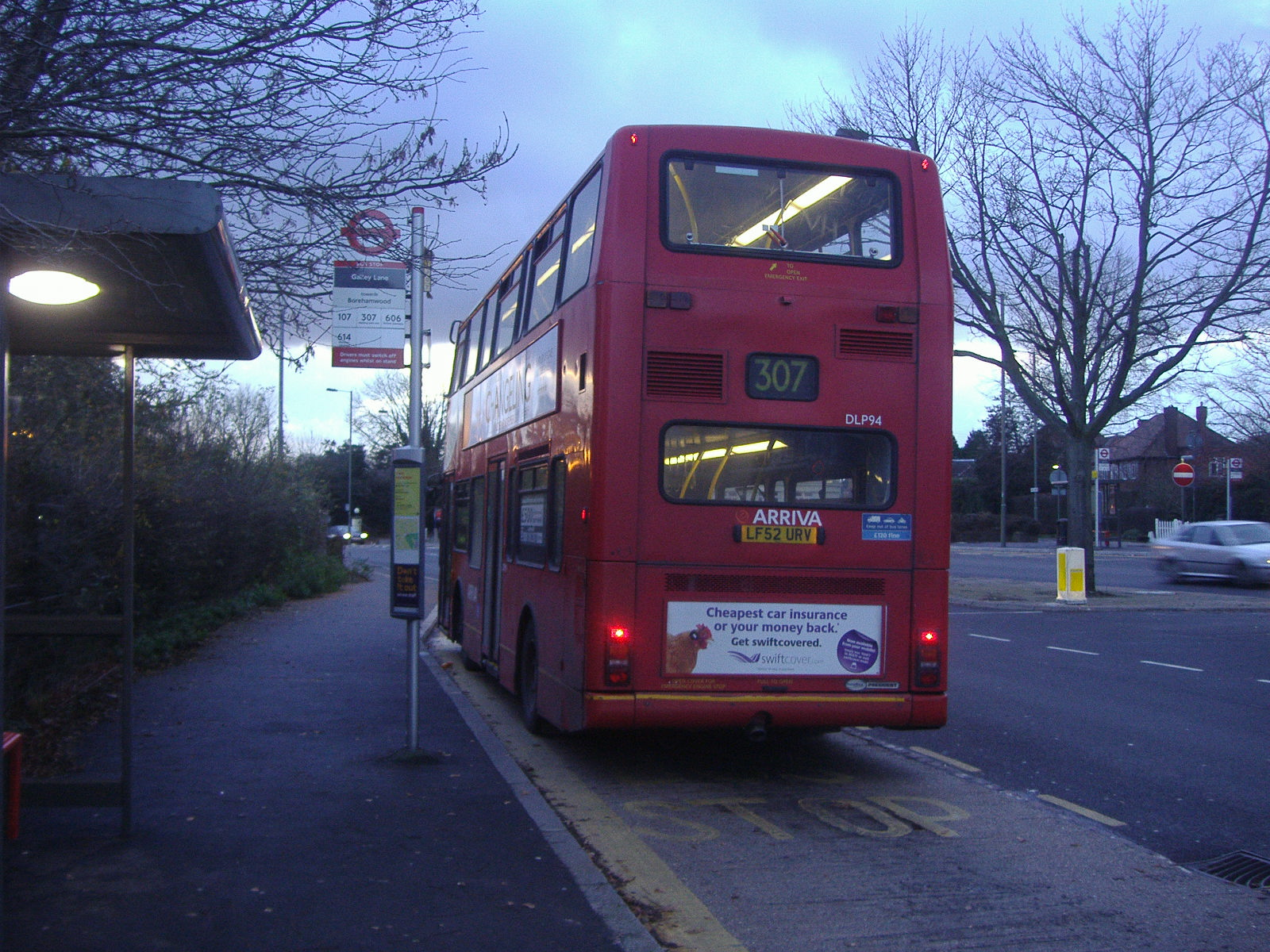 file:london bus route 307 barnet - wikimedia commons