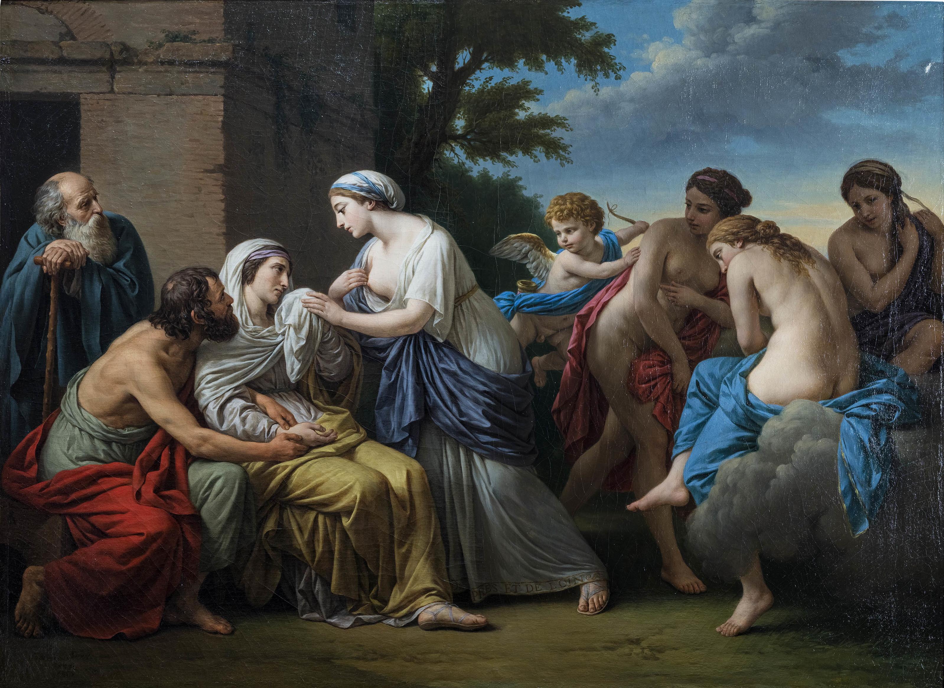 Filelouis Jean François Lagrenee Lamitié Consolant La