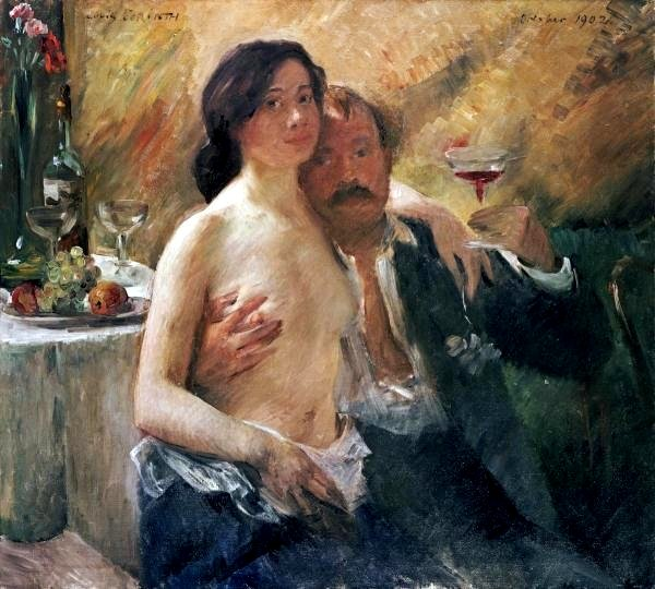 Datei:Lovis Corinth, self portrait with Charlotte.jpg