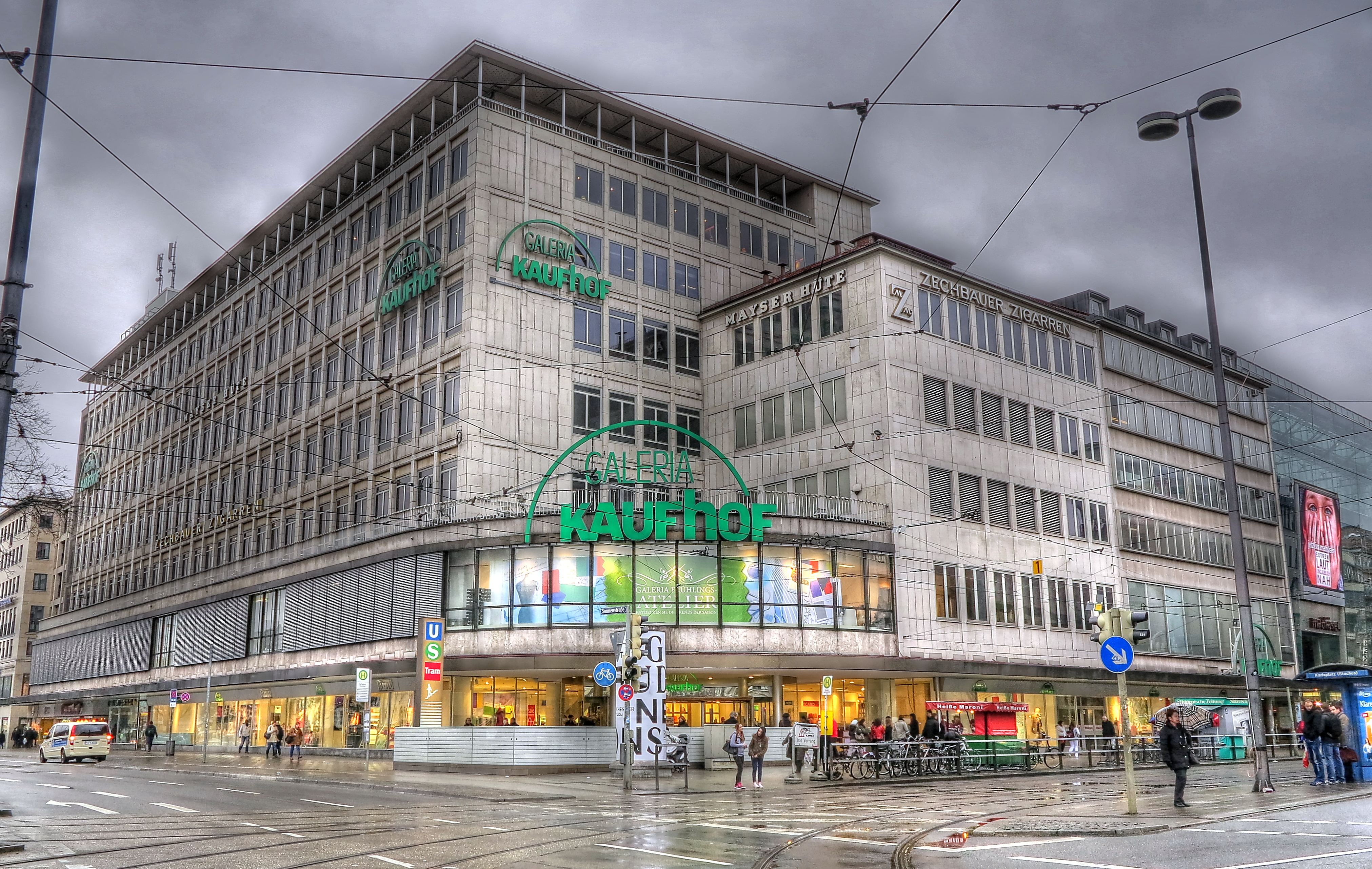 Galeria kaufhof münchen am stachus münchen