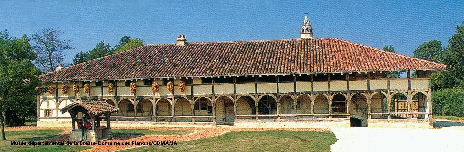 Ferme bressane, Musée de la Bresse-Domaine des Planons