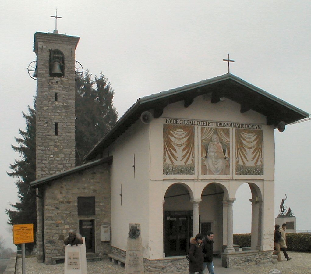 Kirken Madonna del Ghisallo