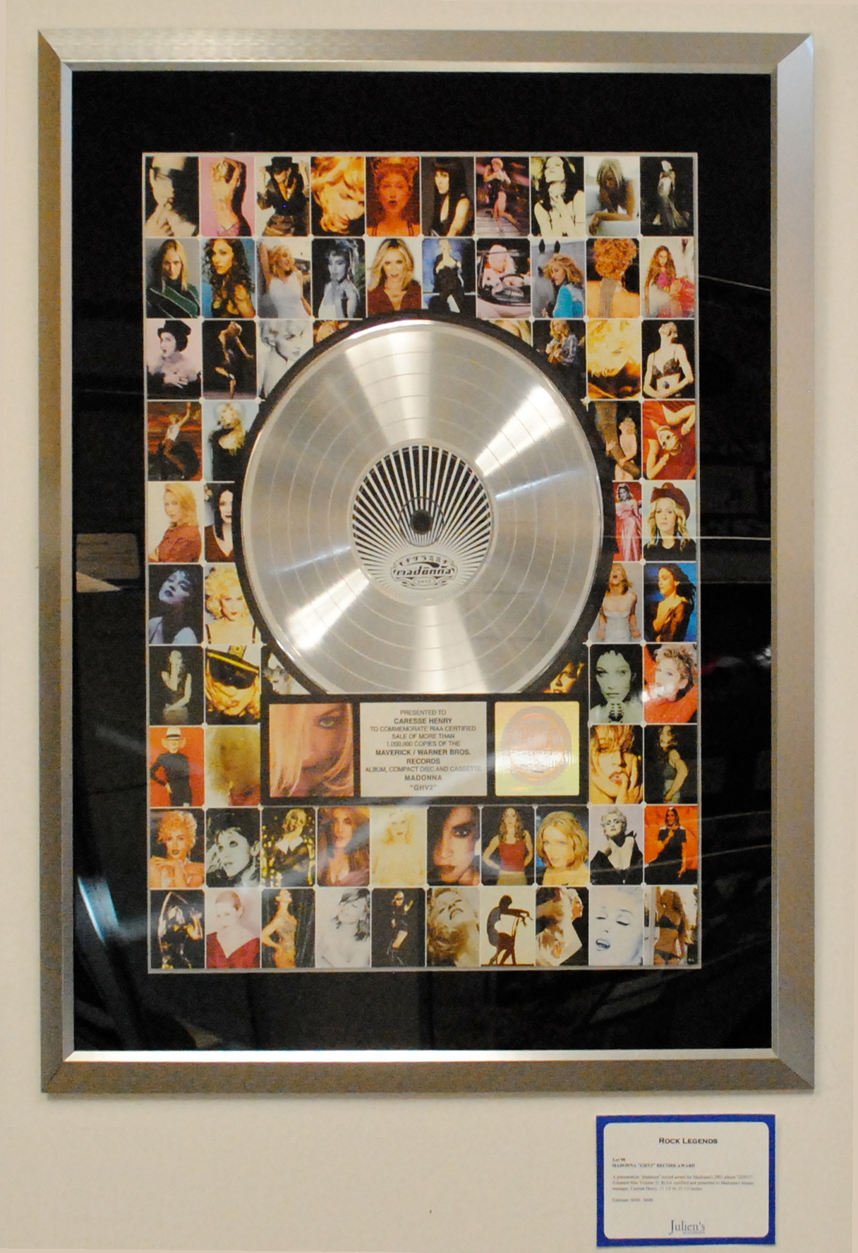 File Madonna Platinum Record 2 Png Wikimedia Commons