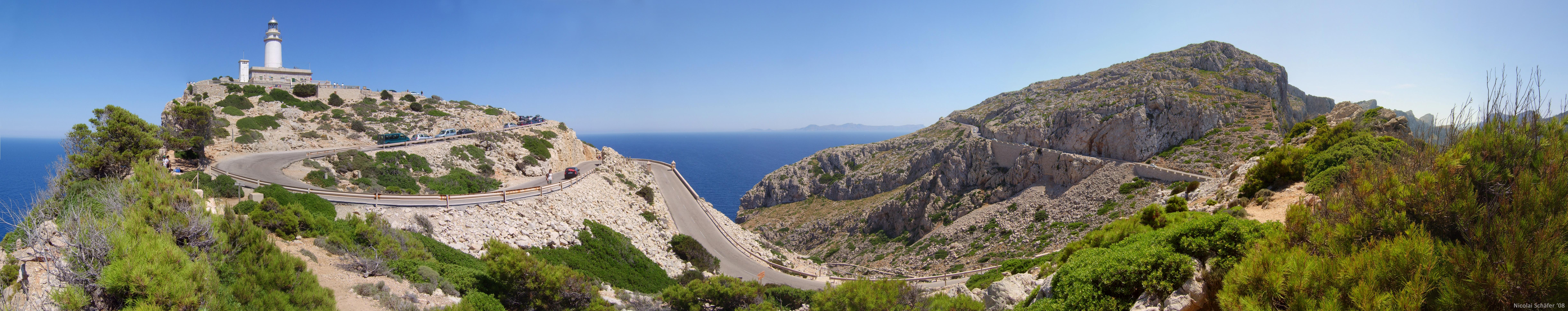 Das Cap Formentor (Panorama)