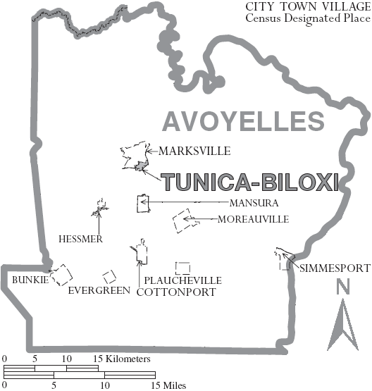 File:Map of Avoyelles Parish Louisiana With Municipal Labels.PNG