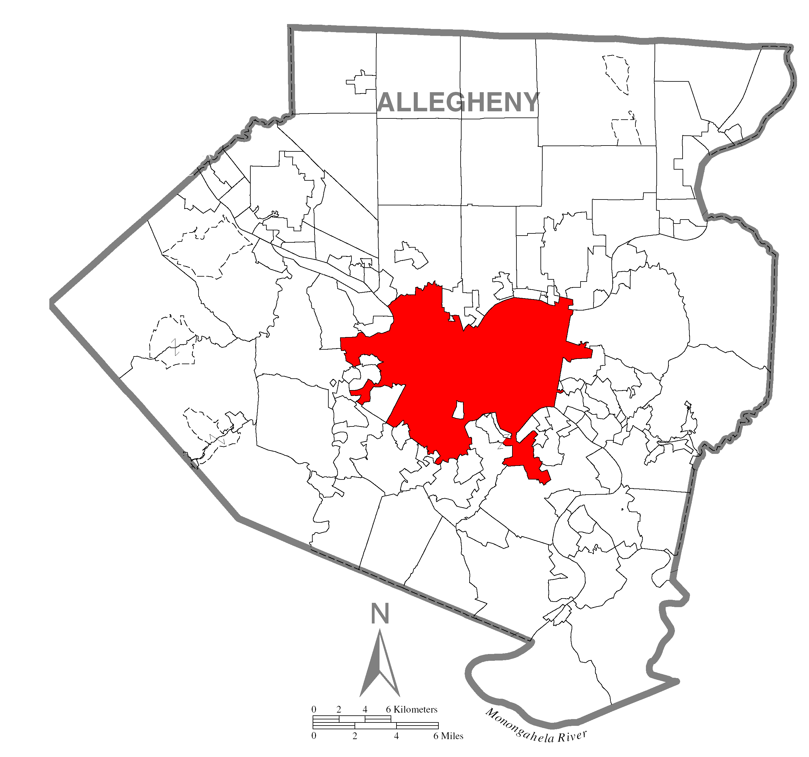 Allegheny County  Property Values